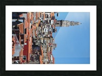 Oporto City the Clerigos Tower Picture Frame print