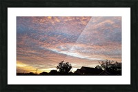 God's Masterpiece Picture Frame print