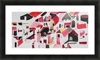 My Postcode Picture Frame print
