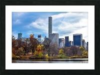 Autumn Central Park  Picture Frame print