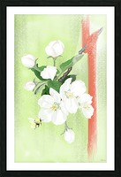 Apple tree Picture Frame print