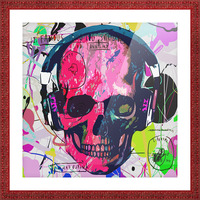Music Anatomy Picture Frame print