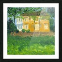 Unoccupied Estate. Picture Frame print