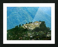 North East India Picture Frame print