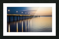 Sea Day2Night Picture Frame print