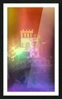 Festival Lights and Fire 2 Picture Frame print