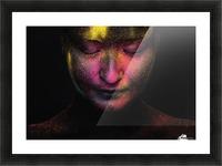 RGB feelings Picture Frame print