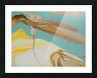 SUN BUBBLE Picture Frame print