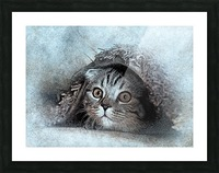 kitty Picture Frame print