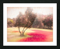 The Raanana Park 1 Picture Frame print