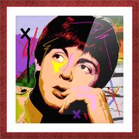 Sir Paul X Picture Frame print