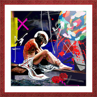 Christ X Picture Frame print