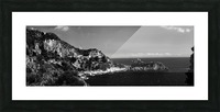 Super panoramic view Amalfi Coast - Italy Picture Frame print