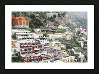 Houses at Amalfi Town - Italy Picture Frame print