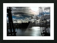 London Dramatic Sky - UK Picture Frame print