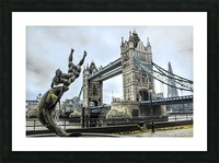 Tower Bridge - London  Picture Frame print