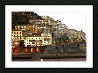 Amalfi Village  Landscape - Italy Picture Frame print