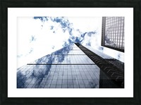 London City - Skyscraper Picture Frame print