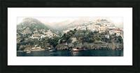 Panoramic Positano - Amalfi Coast - Italy Picture Frame print