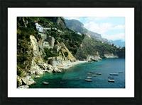Amalfi Coast - Conca dei Marini Beach - Italy Picture Frame print