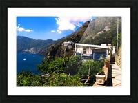 Amalfi Coast Landscape - Italy Picture Frame print