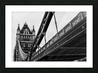 Tower Bridge Close up - London - Uk Picture Frame print