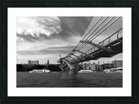 London Skyline -St Pauls Cathedral Picture Frame print