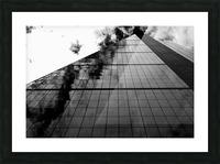 London Skyscraper II - Black and White Picture Frame print