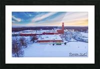 Lonoke, AR | Remington Winter Picture Frame print
