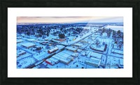 Lonoke, AR | Snowday! Picture Frame print