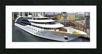 Cruise ship - Super Panoramic Picture Frame print