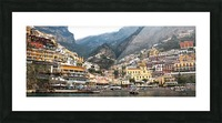 Artistic Panoramic Landscape Picture Frame print
