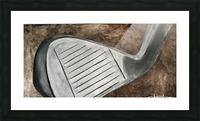 Golf Nouveau I Picture Frame print