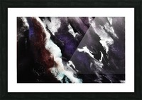 Odyssey Abstract Artwork Picture Frame print