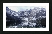 Mountains in the Lake Picture Frame print