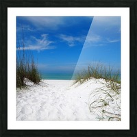 Coquina Dunes Picture Frame print