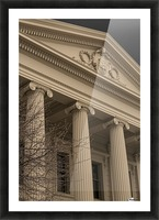 Building with Corinthian Pillars A011201_1419719 Picture Frame print