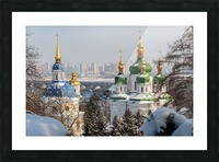 Vydubitskii Monastery in Kyiv Picture Frame print
