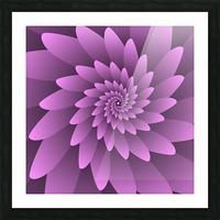 3D Floral Modern Artwork Picture Frame print
