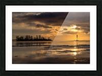 Île Dixie Picture Frame print