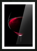 Red Wine Picture Frame print