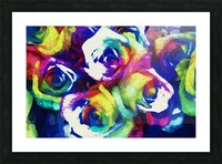 Love Me With Roses Picture Frame print
