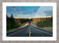 Passing Through Picture Frame print