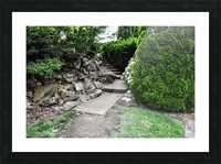 Enchanted Walkway Picture Frame print