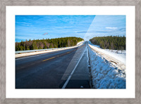 Along the Way Picture Frame print