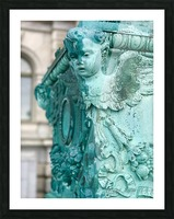 Capital Statues Picture Frame print