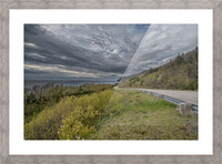 Springtime on the Cabot Trail Picture Frame print
