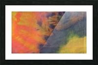 SPLASH DOT Picture Frame print