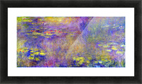 Water Lilies - (Yellow nirvana) by Monet Picture Frame print