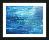 Ocean Picture Frame print